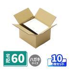 ダンボール 段ボール A6サイズ 宅配40 定番ダンボール箱 小物用 配送用 ハガキサイズ 10枚 0474