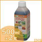 万田アミノアルファ 液体肥料 植物活性剤 ボトル 500ml ×2本セット アイリスオーヤマ 液体肥料 液肥 家庭菜園 園芸用品