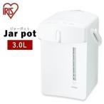 電気ポット 保温付き おしゃれ 保温 人気 3リットル 3L 保温機能付き おすすめ ジャーポット IMHD-030-W アイリスオーヤマ