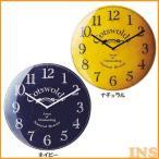 ショッピング掛け時計 時計 掛け時計 掛時計 壁掛け 壁時計 ウォールクロック 壁掛け時計 ウォールクロック Cotswolds CL-1282 ナチュラル・ネイビー(B)
