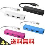 iBUFFALO 4ポート バスパワー スタンダード USBハブ BSH4U25BK BSH4U25WH BSH4U25PK BSH4U25BL|2