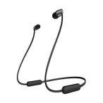 SONY ソニー WI-C310 BC ワイヤレスイヤホン Bluetooth対応 マイク付き ブラック