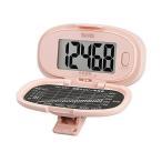 タニタ PD-647-PK 歩数計 ピンク 大画面・腰タイプ TANITA