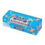 クリロン化成 BOS-2191A BOS 驚異の防臭袋 ボス うんちが臭わない袋 SSサイズ大容量 200枚入 ペット用 BOS2191A うんち処理袋 ブル-|1