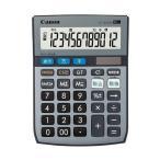 キャノン LS-122TUG SOB 12桁電卓 グリーン購入法適合 千万単位表示 時間計算付 税計算可 ミニ卓上タイプ Canon