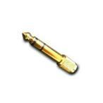 富士パーツ AC-666 ステレオミニプラグ → ステレオ標準プラグ 変換プラグ フジパーツ AC666