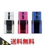 ELECOM マウス Bluetooth CAPCLIP 3ボタン IRLED搭載 充電式 M-CC1BR WH PN BU 携帯
