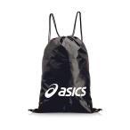 アシックス EBG440 9001 ナップサック ライトバック L ブラック/ホワイト ASICS