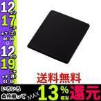 エレコム マウスパッド ソフトレザー Sサイズ ブラック MP-SL01BK