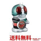 リズム時計 キャラクタークロック 仮面ライダー 緑メタリック 4SE502RH05