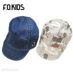 F.O.KIDSエフオーキッズ ミッキーマウスのワークキャップ 帽子 日よけ 子供新入荷