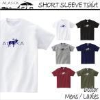 ALASCA Tシャツ メンズ 半袖 16-17 ALASCA スノーボード ショートスリーブ moose レディース ネコポス可