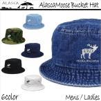 ALASCA 16-17 バケットハット スノーボード Moose メンズ レディース Alasca Moose BucketHat デニム 迷彩 カモフラ キャップ  ネコポス可