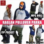 BANPS パーカー スノーボード RAGLAN PULLOVER PARKA wave 2015-16 スノボー ウェア スノボ スキー 裏起毛 メンズ レディース BANPSSNOWBOARDING