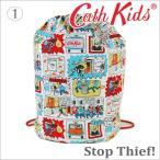 ショッピングキャスキッドソン 送料無料/キャスキッドソン 正規品 巾着バック リュックサック 体操袋 Cath Kidston Barrel Drawstring Bag