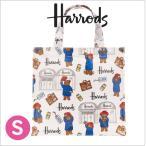 送料無料/HARRODS ハロッズ 正規品 トートバッグ Sサイズ, パディントンベアー,Harrods Paddington Bear,ショッピングバッグ