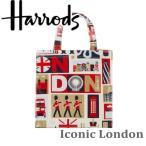 送料無料/HARRODS ハロッズ 正規品 トートバッグ バック Sサイズ  ショッピングバッグ Harrods Elevators,Shopper Bag