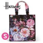 送料無料/HARRODS ハロッズ 正規品 トートバッグ Sサイズ Mサイズ ピンクハート,裏地付 ショッピングバッグ Glitter Hearts Shopper Bag