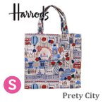 送料無料/HARRODS ハロッズ 正規品 トートバッグ バック Sサイズ Mサイズ ショッピングバッグ Harrods Pink Balloons Shopper Bag