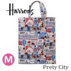 送料無料/HARRODS ハロッズ 正規品 トートバッグ バック  Mサイズ ショッピングバッグ Harrods Pink Balloons Shopper Bag