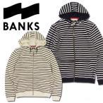 BANKS パーカー バンクス パーカー WLF0045 SALT FLEECE  ジップアップフード メンズ トップス アウター MEN'S/BKS11