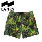 BANKS ボードショーツ バンクス 水着 スイムウェア ショートパンツ PANDANUS BOARDSHORT BS0084 メンズ DM便対応可 /BKS31