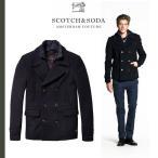 SCOTCH&SODA スコッチアンドソーダ Pコート Caban Jacket アウター ウールメルトン  / SAS33