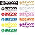 BEYOND C-HR(NGX50・ZYX10) 16.12〜 オリジナルステッカー[横](300mm)