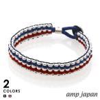 amp japan アンプジャパン Metal Beads Braid Bracelet メタル ビーズ ブレイド ブレスレット