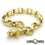 LONE ONES ロンワンズ K22シルクリンクブレスレット M