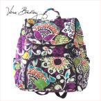 vera bradley ヴェラブラッドリー ベラブラッドリー Double Zip Backpack ダブルジップバックパック Plum Crazy キルト