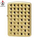 zippo ジッポーBinary Form Pyramid (D) Gold Plate (G・tank) ピラミッド アーマーケース