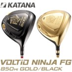 Yahoo!BHL Online Shop【新商品・送料無料】2017 KATANA VOLTiO NINJA FG 850Hi GOLD/BLACK ドライバー(カタナ ボルティオ ニンジャ)Speeder361 シャフト