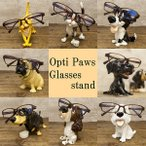8種類の可愛いねこちゃんとワンちゃん 眼鏡置き オプティパウ アニマル メガネスタンド OptiPaws