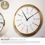 ショッピング壁掛け 壁掛け時計 インターフォルム INTERFORM モトレフ Motreff CL-3020 ウォールクロック 時計 かけ時計 電波時計