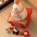 鏡餅 迎春飾り 正月飾り ちぎり和紙 彩 五福鏡餅 干支 置物 干支置物 リュウコドウ 龍虎堂