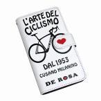 DE ROSA デローザ iPhone CASE BLACK iPhone7/iPhone6・6S用 ブラック アイフォンケース/おしゃれ/自転車/ロードバイク