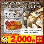 国産 せんべい 国産米 チーズ味 濃厚チーズせん 12袋セット 送料無料