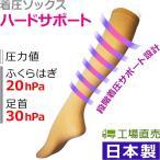 高襪 - 着圧ソックス 丈夫な生地が特徴のしっかりサポート style-CR 日本製