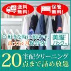 《美服パックライト20》最大6か月保管サービス付き!宅配クリーニング 20点まで詰め放題で保管も送料無料!大切な衣類を丁寧に仕上げます!