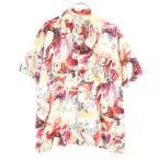 総柄 アロハシャツ  メンズ 古着 200601 メール便可 【Pdown0703】