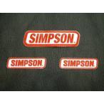 USA直輸入 SIMPSON純正ステッカーセット 新品