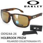 オークリー OAKLEY サングラス 偏光レンズ HOLBROOK PRIZM ホルブルック プリズム OO9244-26 メンズ レディース UVカット アジアンフィット