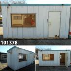 101378 中古 格安現状販売 4.5m ユニットハウス プレハブ 倉庫 事務所 休憩室