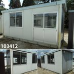 103412 中古 格安現状販売 5.7m ユニットハウス プレハブ 事務所 休憩室 倉庫