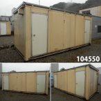 104550 中古 格安現状販売 5.4m ユニットハウス コンテナ プレハブ 倉庫 物置 小屋 DIY