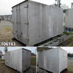 106163 中古 格安現状販売 3.3m トラックコンテナ ユニットハウス プレハブ 倉庫 物置 小屋 DIY