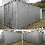 106239 中古 格安現状販売 20ft 冷蔵コンテナ ユニットハウス プレハブ 倉庫 物置 小屋 DIY