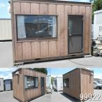 99922 中古  ナガワスーパーハウス単棟 3.6m 人気の木目調 現状販売特別価格