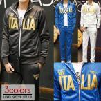 セットアップ メンズ 長袖 ITALIA イタリア ジャージセットアップ 上下 パンツ 上下セット スポーツ ダンス 普段着 部屋着 送料無料